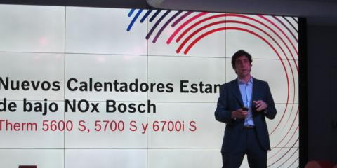 Bosch presenta en Madrid su nueva gama de calentadores de bajo NOx Therm