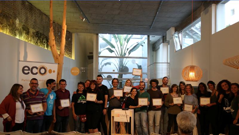 Gala de entrega del segundo generador solar solidario de Ecooo.