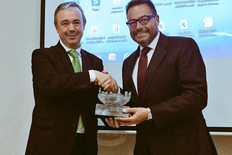 Entrega del Premio Madrid Subterra.