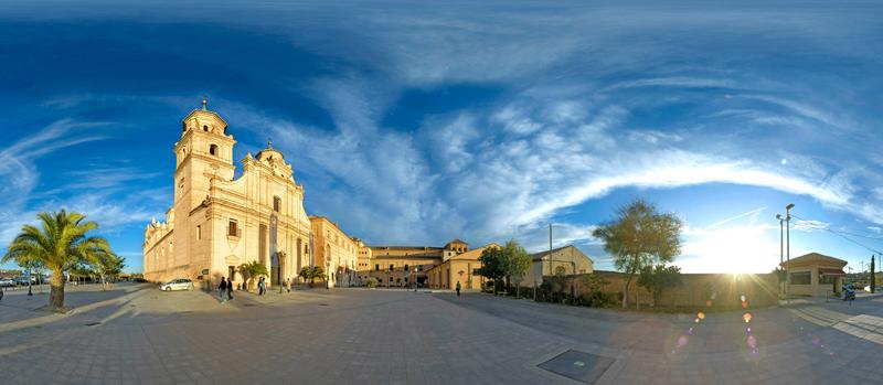 Panorámica Universidad Católica de Murcia.
