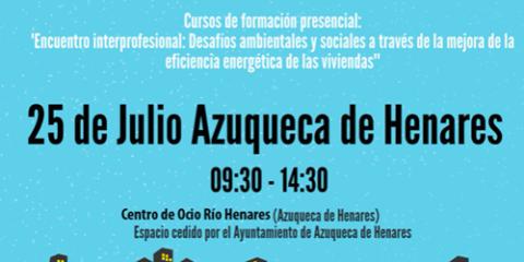 ACA finaliza en Azuqueca de Henares el ciclo de encuentros sobre eficiencia energética en viviendas