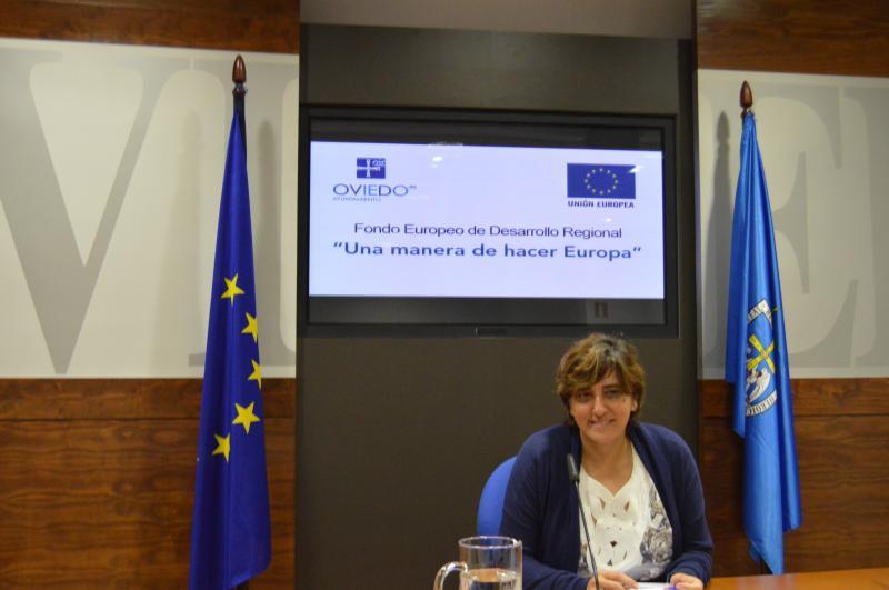 Ana Rivas, concejala de infraestructuras del Ayuntamiento de Oviedo.