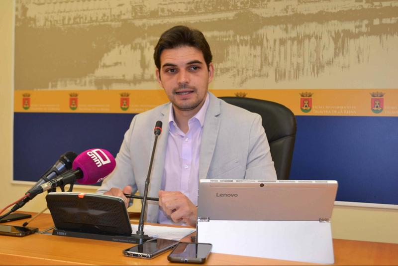 Viceportavoz del equipo de Gobierno del Ayuntamiento de Talavera de la Reina (Toledo), Santiago Serrano.