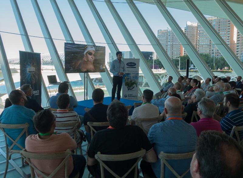 Jornada de Carrier ante profesionales para mostrar su visión del futuro de la climatización.