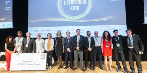 El CEEC entrega los premios EmErgEnt a las startups más relevantes en el sector de la energía eficiente de Cataluña