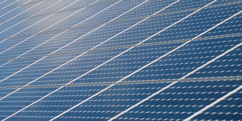 Panel fotovoltaico.