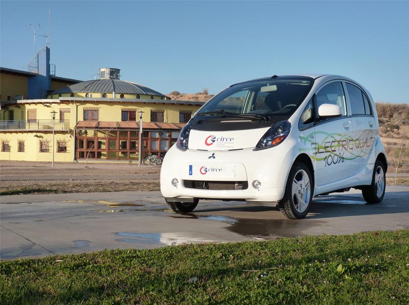 Fundación CIRCE. Vehículo eléctrico.