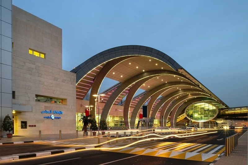 Terminal del Aerpuertos de Dubái.