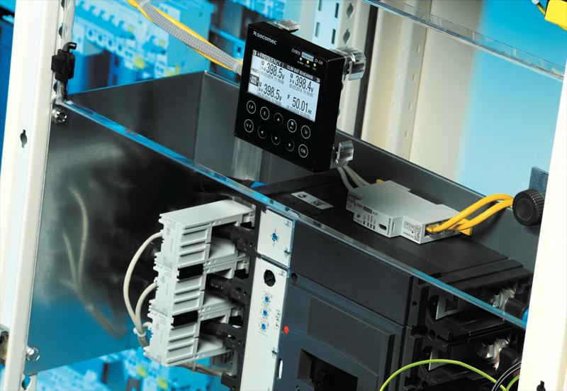 sistema modular DIRIS Digiware de Socomec