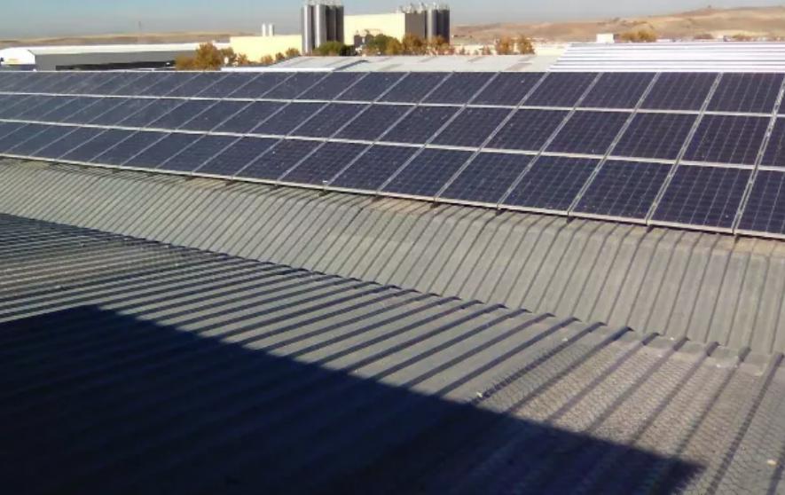 Planta solar de Torralba de Calatrava (Ciudad Real)