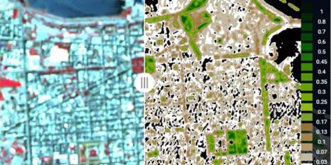 Las imágenes por satélite contribuyen a mejorar la eficiencia energética de las ciudades
