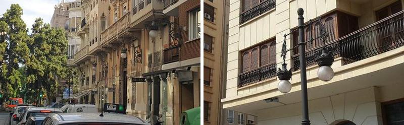 Alumbrado urbano de Valencia capital