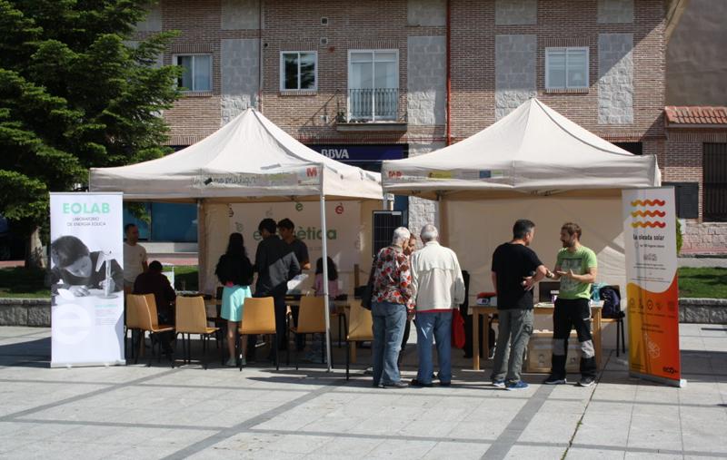 Participación de Ecooo en una feria energética.