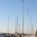 La tecnología LED ilumina el nuevo Paseo Marítimo del Puerto Olímpico de Barcelona