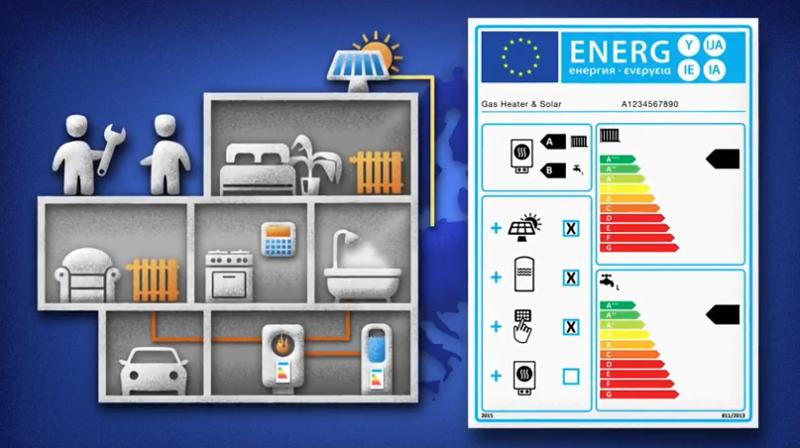 Etiquetado energético de los sistemas de calefacción.