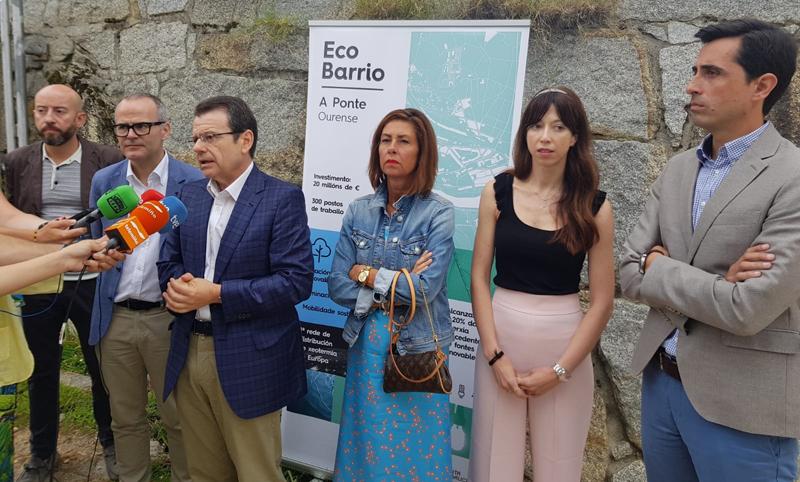 Presentación de las actuaciones en el EcoBarrio A Ponte de Orense.
