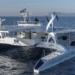 """""""Energy Observer"""", el primer barco propulsado únicamente con energías renovables e hidrógeno, atraca en Valencia"""