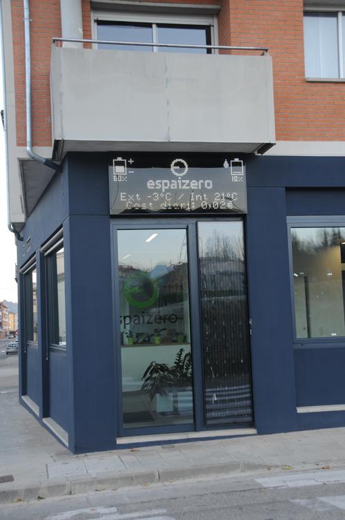 Imagen de la entrada del edificio
