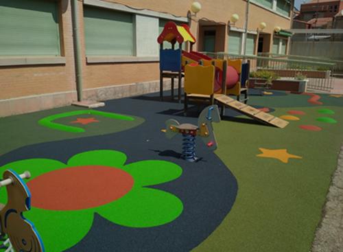 Obras de mejora terminadas en el colegio Jarama