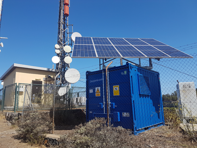 Sistemas fotovoltaicos aislados para suministro eléctrico.