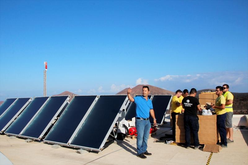 Imagen de equipos de mejora energética