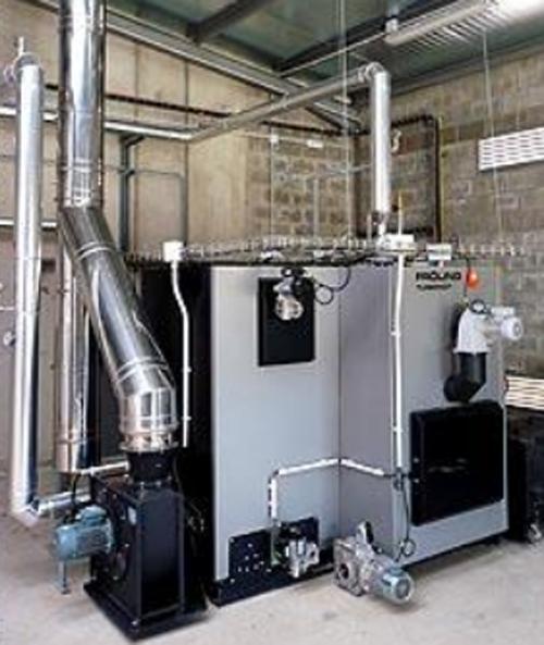 Caldera de biomasa del Hotel&Spa