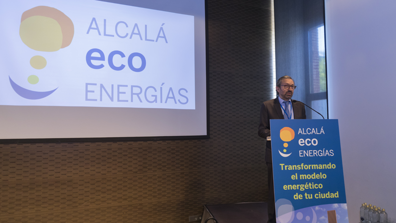 Imagen de la presentación del Proyecto Alcalá Eco Energías.