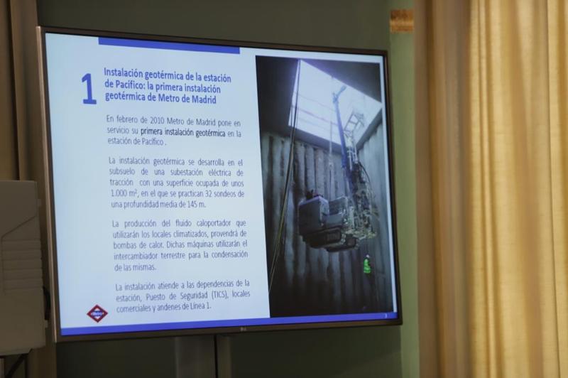 Imagen tomada durante el III Congreso Internacional Madrid Subterra.