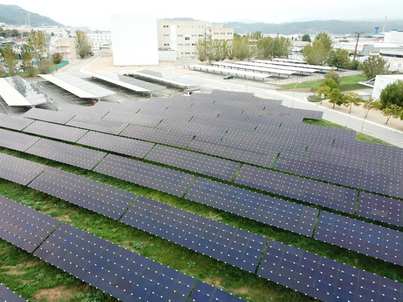 Se trata de la planta fotovoltaica para autoconsumo más grande de Cataluña.