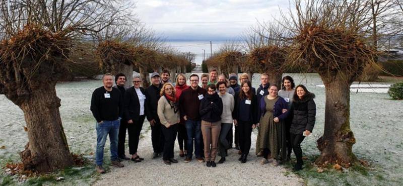Ávila muestra la situación del municipio respecto a las medidas de eficiencia energética en una reunión del proyecto PentaHelix