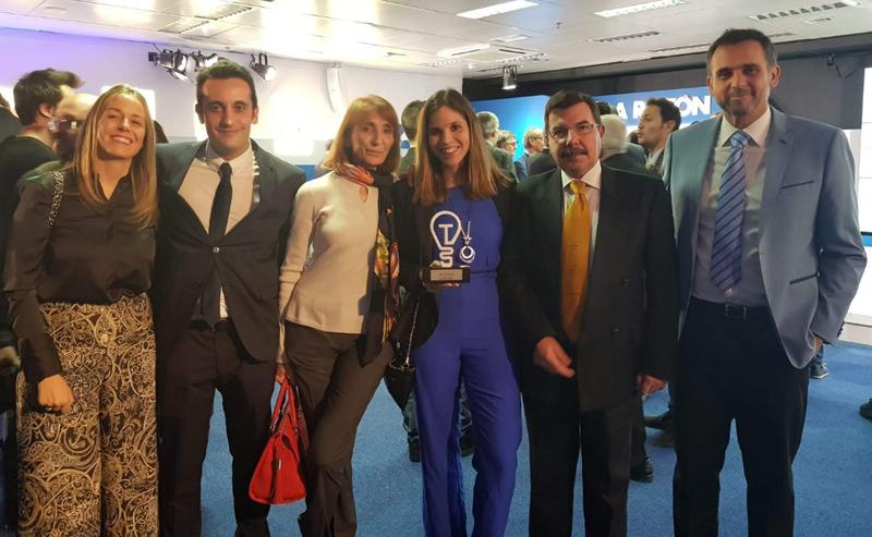 Desigenia recibe el galardón Compromiso Medioambiental en la segunda edición de los Premios de Tecnología e Innovación