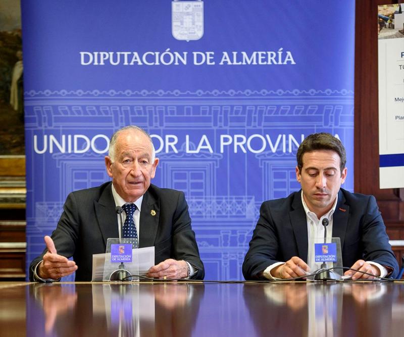 La Diputación Provincial de Almería ha logrado 16,5 millones de euros de Fondos Europeos para la mejora de la eficiencia energética en la provincia de Almería