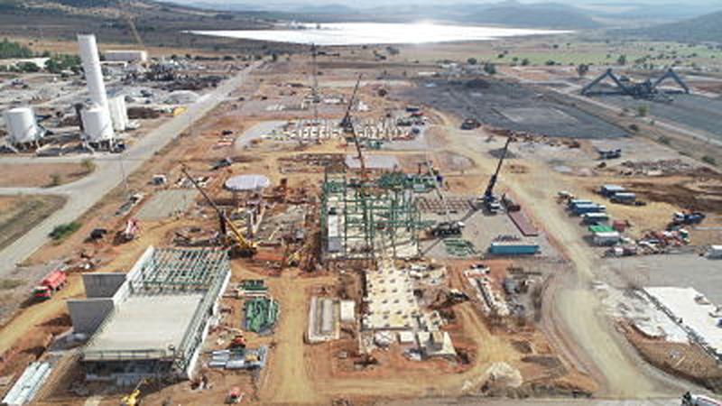 Ence amplía su financiación verde para la planta de biomasa que construye en Puertollano