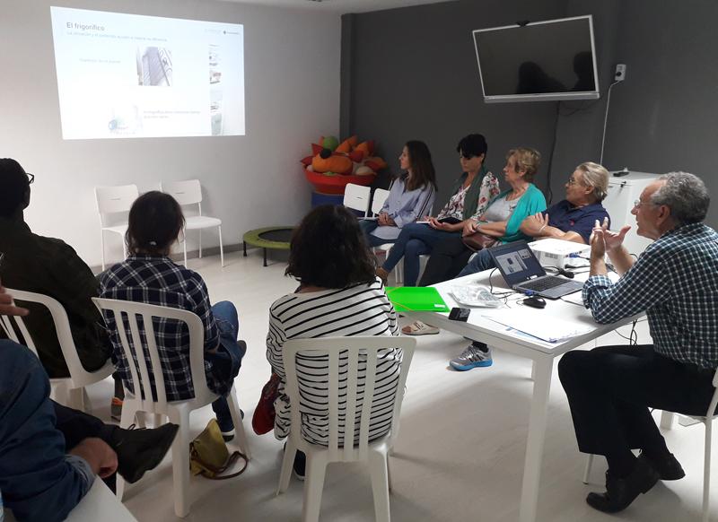 Imagen de la celebración del taller impulsado entre Endesa y el Ayuntamiento
