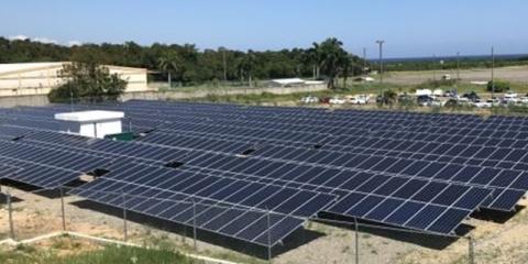 Las energías renovables, cada vez más presentes en los aeropuertos de ambos lados del Atlántico