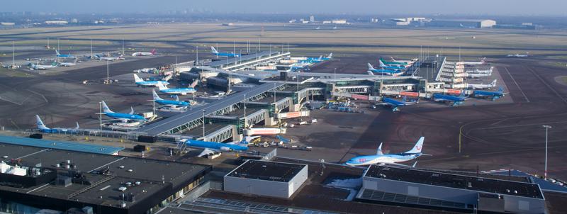 Aeropuerto de Ámsterdam.