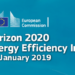 Horizon 2020 Energy Efficiency Info Day, una jornada para presentar oportunidades de financiación en la convocatoria de 2019