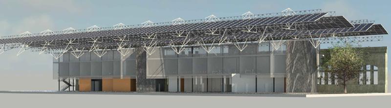 Las Naves de Sevilla se convertirá en un centro de innovación que aprovecha las energías renovables