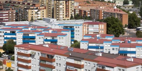 El parque residencial Fasa de Valladolid, a punto de inaugurar una red de calor de biomasa