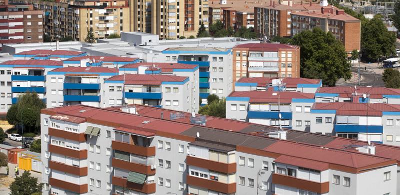 El parque residencial Fasa de Valladolid, a punto de estrenar una red de calor de biomasa