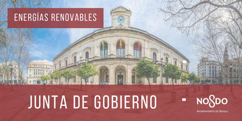Sevilla reducirá 20.000 t de emisiones de CO2 al año tras adjudicar un contrato de suministro de energía 100% renovable para los servicios municipales