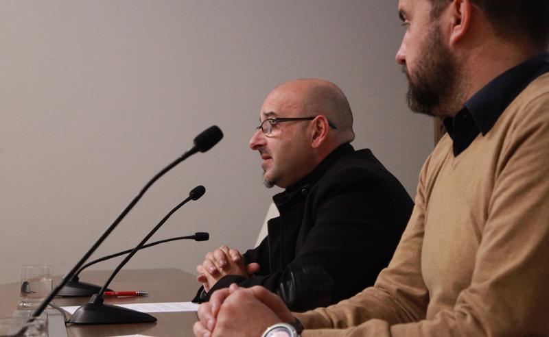 Presentación en la Diputación de Badajoz
