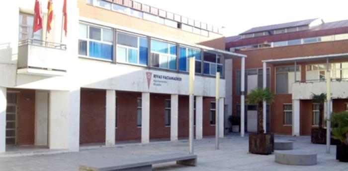 Figura 1. Fachada Ayuntamiento de Rivas.