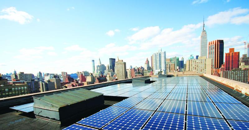 El proyecto solar comunitario más grande en la ciudad de Nueva York está terminado y en funcionamiento