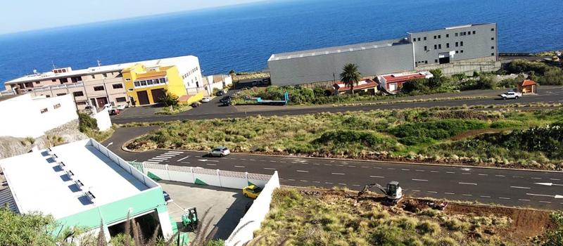 Santa Cruz de La Palma recibe 91.000 euros para renovar la iluminación por tecnología LED en el Polígono de Mirca