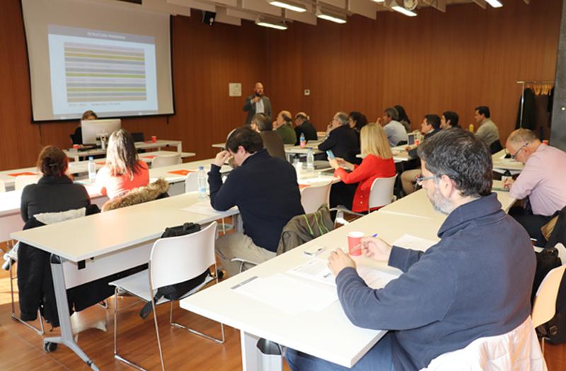 Primera Reunión del Comité Técnico del V Congreso Edificios Inteligentes.