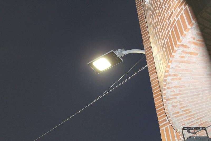 Almussafes invierte 80.000 euros en la instalación de 227 luminarias con tecnología LED.