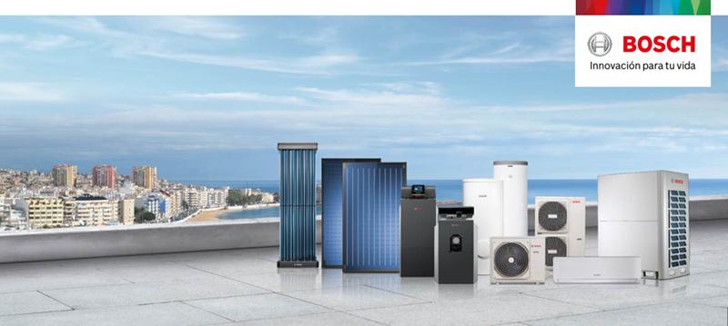 Desde octubre de 2017, las soluciones de aire acondicionado y calefacción comercial e industrial de Buderus se distribuyen en España y Portugal bajo la marca Bosch.