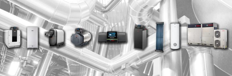 Bosch Comercial e Industrial forma parte de la división Bosch Termotecnia del Grupo Bosch.