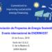 EnerInvest organiza un evento internacional sobre financiación de proyectos de energía sostenible